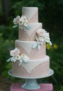 wedding photo - From Erica O'Brien Cake Design By Mandy