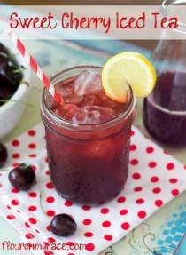 wedding photo - Cherry Iced Tea