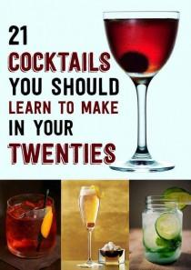 wedding photo - 21 Cocktails You Should Learn To Make In Your Twenties