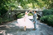 wedding photo - What To Wear When You Get Married In Central Park