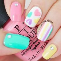 wedding photo - 45 Cute Easter Nails Art Designs For 2016