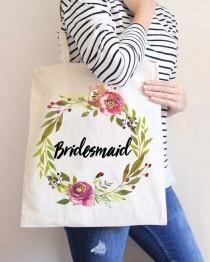 wedding photo - Moody Floral Wedding Bags