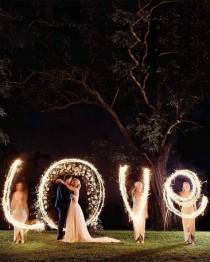 wedding photo - Top 20 Must See Night Wedding Photos With Lights