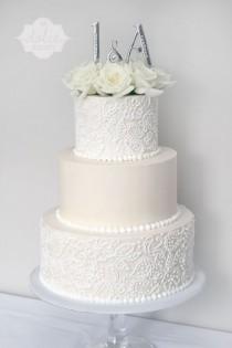 wedding photo - 14 Amazing Buttercream Wedding Cakes Photos #weddingcakes