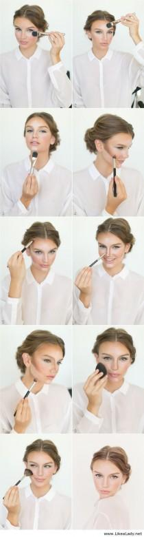wedding photo - How To Contour And Highlight - Once Wed