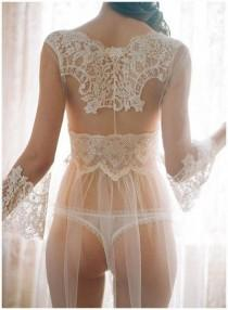 wedding photo - Sultry, Sexy Bridal Lingerie
