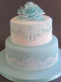 wedding photo - Resultado De Imagen Para Lace Cake