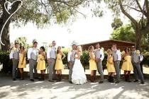 wedding photo - Thinking About Having The Girls Wear Cowboy Boots At The Reception....and Our Guys Are Wearing Gray!! We Weren't Sure If It Wo…