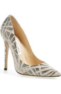 wedding photo - Jimmy Choo 'Anouk' Embellished Pointy Toe Pump (Women) Available At #Nordstrom