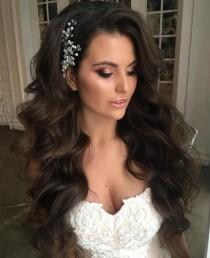 wedding photo - 40 Gorgeous Wedding Hairstyles For Long Hair