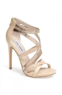 wedding photo - Gorgeous Sandals To Pair With A Midi Skirt.