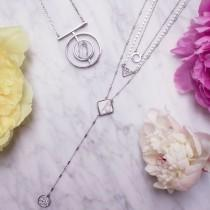 wedding photo - Layering Necklaces… For Any And All Occassions.