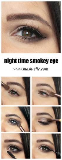 wedding photo - Fall Inspired Smokey Eye Makeup Tutorial