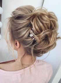 wedding photo - This Gorgeous Wedding Hair Updo Hairstyle Idea Will Inspire You