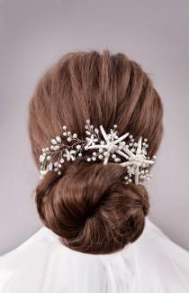 wedding photo - Starfish Accessories Beach Wedding Hair Accessories Starfish
