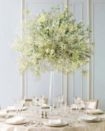 wedding photo - 79 White Wedding Centerpieces