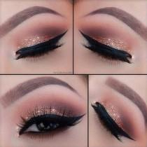 wedding photo - Get Glittery Peepers For New Year's Eve By Clicking Here - Http://dropdeadgorgeousdaily.com/2013/12/new-years-eve-makeup-tutorial/ #makeup…
