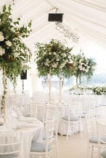wedding photo - Elegant At Home English Summer Wedding