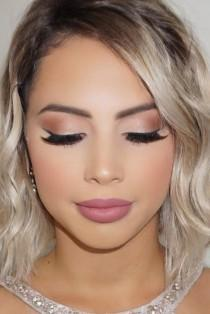 wedding photo - Need Wedding Makeup Ideas? Our Collection Is A Life Saver. Get Inspiration For Your Day And Look Stunning. We Are Sure You Will Love …