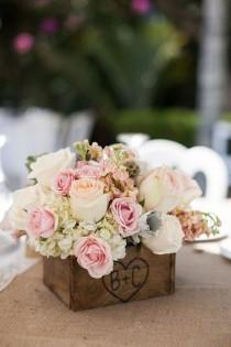 wedding photo - 100 Country Rustic Wedding Centerpiece Ideas