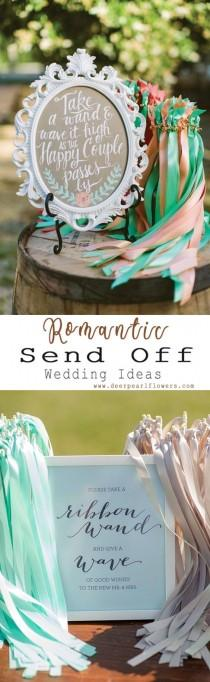 wedding photo - 25 Fun Creative Wedding Exit Send Off Ideas