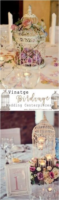 wedding photo - Top 20 Vintage Birdcage Wedding Centerpieces For 2018