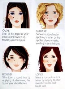 wedding photo - AVON Make-Up Tip - Blusher Application For Your Face Shape Www.youravon.com/pprice4153