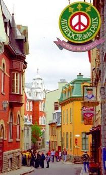 wedding photo - Quebec City - Upper Town Street