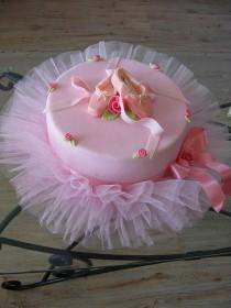 wedding photo - Ballerina Cake