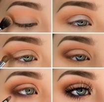 wedding photo - Simple And Beautiful Eye Makeup Shadows Ideas For Blue Eyes