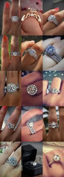wedding photo - 15 Gorgeous Engagement Rings By @RaymondLeeJwlrs #weddingring