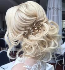 wedding photo - 40 Chic Wedding Hair Updos For Elegant Brides