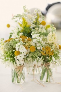 wedding photo - Beautiful DIY Wedding Flowers, Bouquets And Centerpieces