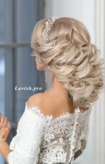 wedding photo - Featured Wedding Hairstyle:lavish.pro;www.lavish.pro; Wedding Hairstyle Idea.