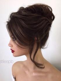 wedding photo - Elstile Wedding Hairstyles For Long Hair 46 - Deer Pearl Flowers / Http://www.deerpearlflowers.com/wedding-hairstyle-inspiration/elstil…