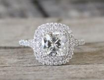 wedding photo - Cushion Cut Ring