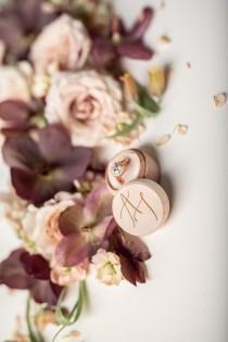 wedding photo - RING BEARER BOXES & PILLOWS Box