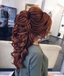 wedding photo - Half Up Half Down Hairstyle Ideas,