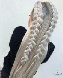 wedding photo - Langhaar Frisuren. WOW. Hair, Hairstyles, Chic, Longhair = Estilo   Style @estilobymelida Approved