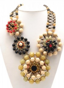 wedding photo - Eclectic Jewelry And Fashion: Miriam Haskell Statements