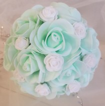 wedding photo - Bride Bouquet / Bridal Bouquet / Flower Bouquet / Wedding Bouquet / Bridesmaid Bouquet /Bouquet to Order/