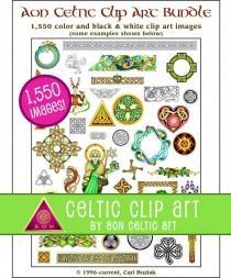 wedding photo - 1,550 clipart images - Aon Celtic Art Clipart Bundle