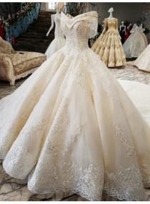 wedding photo - Luxury Prinzessin Hochzeitskleider Mit Spitze Brautkleider Günstig Online Modellnummer: XY189