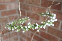 wedding photo - babies breath crown, baby breath crown, dainty flower crown, flower crown, floral crown, simple flower crown, white flower crown, rustic