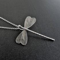 wedding photo - Dragonfly necklace pendant, silver dragonfly pendant, dragonfly jewelry, dragonfly unique gifts for women, insect jewelry, animal jewelry