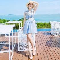 wedding photo - Sexy Hollow Out Slimming A-line High Waisted Dress Skirt - Bonny YZOZO Boutique Store