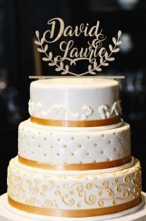wedding photo - Rustic Wedding Cake Topper, Personalized Wood Wedding Cake Topper, Engagement Cake Topper, Rustic Wedding Decor , Rustic Cake Topper