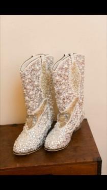 wedding photo - Wedding Boots