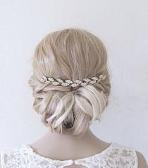 wedding photo - Bridal headband,headband bridal,wedding headband,headband wedding,bridal headband silver,bridal headband boho,wedding headband for brides
