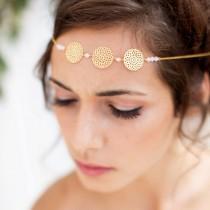 wedding photo - Headband - Beji - Bridal wedding headpieces - bridal headband - filigree headband - Nature - bridal hair headband - Headpiece headband